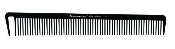 X-Treme Cut Carbon Haarschneidekamm mittel 71739